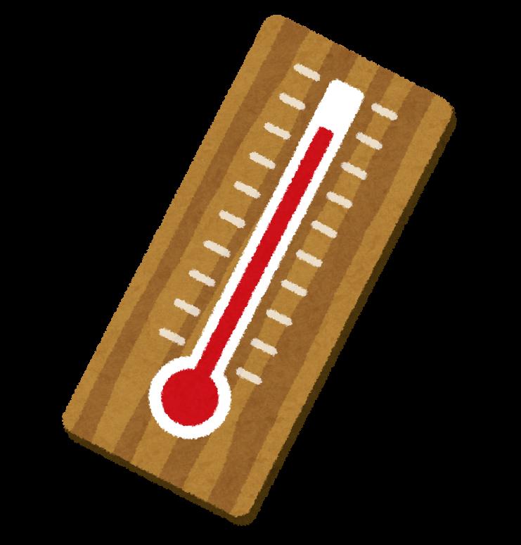 アナログな温度計